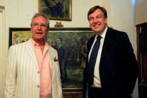 MPs attend art gallery preview