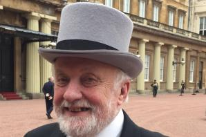 Maldon councillor is presented with MBE at Buckingham Palace